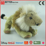 En71リアルなぬいぐるみの柔らかい雌ジシのプラシ天のライオンのおもちゃ