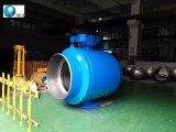 De volledig Gelaste Opgezette Kogelklep van de Pijpleiding Tap voor het Aardgas van Rusland