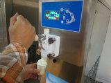 Dünnes Karosserien-einzelnes Aromaweiche Serve-Eiscreme-Maschine