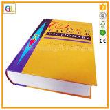 ハードカバー本の印刷サービス(OEM-GL010)の専門の製造者