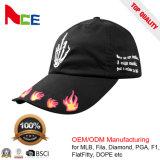 Guangzhou algodón OEM de béisbol personalizado Papá Tapa con logotipo bordado en 3D.