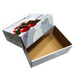 호화스러운 주문 강한 과일 출하 판지 상자
