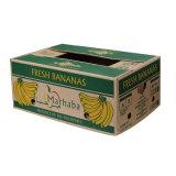 Doble pared impreso en color de frutas Caja de cartón de embalaje de Banana