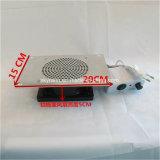 Gran ruido de baja potencia Aspirador de polvo de la uña de mesa