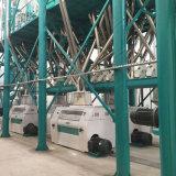 옥수수 제분기 기계 Macking Fufu Sadza Nshima Ugali (20-150T/24H)