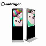 Qualität 32 Zoll-Fußboden-Standplatz-Anzeigen-Spieler mit beweglicher bekanntmachender Bildschirm-Fühler-Bildschirmanzeige