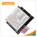 10А 12V ШИМ контроллера заряда солнечной энергии для литиевой батареей