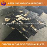 Plaque bimétallique de recouvrement de soudure de chrome élevé