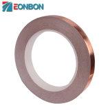 Eonbon Adhesivo conductor eléctrico de la lámina de cobre de cinta de poliéster para cable
