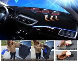 Voar5d Dashmat tapete de painel de bordo para tapetes tapete elástico da Sun para Jeep Wrangler 2011-2017
