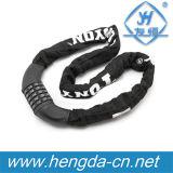 Yh combinaison9229 Vélo en tissu nylon de Verrouillage de chaîne de vélo peuvent imprimer le logo de verrouillage