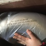De mucha demanda en codo del tubo del acero inoxidable del mercado 304