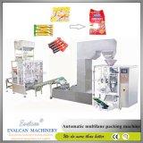 Multi materiale da otturazione automatico della polvere del caffè del sacchetto dei sacchetti del bastone dei vicoli e macchina imballatrice di sigillamento