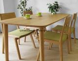 固体木のダイニングテーブルの居間の家具(M-X2401)
