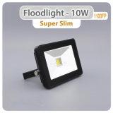 セリウムRoHSが付いている超細いSMD 10W 30W 50W屋外LEDのフラッドライト