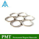 N48 Magneet van het Neodymium van de Ring van D25*D23*1.5 de Dunne met Magnetisch Materiaal NdFeB