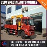 Grue mobile prix d'usine montés sur camion avec grue de chariot hydraulique