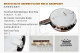 중국 밴조 공장 판매를 위한 각종 Aiersi 상표 밴조