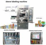 Automatische runde Flaschen-Quadrat-Flaschen-leere Flaschen-Hülseshrink-Etikettierer-Maschine für Plastik- oder Glasflasche