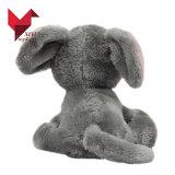 La publicité du jouet fait sur commande de peluche d'éléphant de bonne qualité