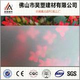 8mm Berijpt van het Polycarbonaat Stevig Blad Gekleurd PC- Blad met UVBescherming voor BinnenDeuren