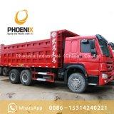 アフリカの市場のためのよい状態の使用されたSinotruk 6X4 HOWOのダンプトラックのダンプカー