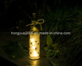 Luces de la Navidad LED de la luz de hadas 2017 de Navidad nuevas/luces de la Navidad de cristal decorativas de la luz LED de la botella de vino