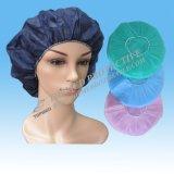 Cirúrgico esfregar chapéus para mulheres, tampões cirúrgicos Bouffant