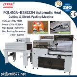 Automatische Wärmeausschnitt-u. Shrink-Verpackungsmaschine für Tafelgeschirr (FQL450A+BS4522N)