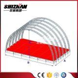 Изогнутая алюминием ферменная конструкция ферменной конструкции круга ферменной конструкции крыши круглая для сбывания