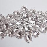 Venda por grosso de guilhotina Diamante vestido de noiva cristais bricolage Acessórios da Correia