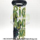 Populärer Rick-und Morty 7mm Stärken-Glasbecher-Glaspfeife für 420