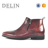 La meilleure qualité en cuir Zip Boot Handmade Mens Chaussures pour hommes