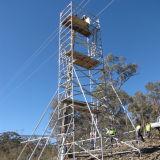 10м высоты алюминиевых сооружением, алюминиевый корпус Mini лесов