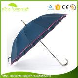 Parapluie droit exquis extérieur d'impression de logo personnalisé par qualité grand