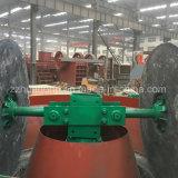 عجلة مزدوجة يرتدي 1100 مبلّل حوض طبيعيّ مطحنة, نوع ذهب يطحن مطحنة آلة لأنّ عمليّة بيع
