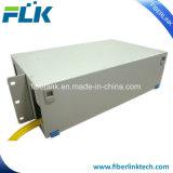 "19"" de fibra óptica Patch Panel de montaje en rack tipo cajón ODF fibras 48"