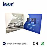Tarjeta de vídeo Brochure-Video 5 pulgadas de pantalla LCD para la publicidad/Saludo