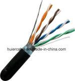 CPR UTP de Kabel van het Netwerk van FTP Cat5e met de Stevige Leider van het Koper
