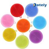 Silikon-Pinsel-magische Teller-Wannen-Wäsche-Reinigungs-Pinsel-Hilfsmittel-Schwamm-Reinigung-Auflagen