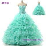 Реальной конструкции валика клея блестящих Prom платье платья Quinceanera шаровой опоры рычага подвески
