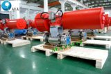 Soem motorisiertes Emergency Abschaltung pneumatischer Stellzylinder-Kugelventil