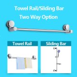 Ausgangs-und Hotel-Badezimmer-Zubehör-entfernbarer einzelner Tuch-Stab/Schienen-Vakuumabsaugung-Cup
