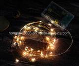 고품질 보장된 대마 밧줄 LED 장식적인 빛 LED 크리스마스 불빛