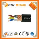 Rvv 2 câble en PVC de base 3 Core dépressions fil électrique de 220V isolés en PVC Cordon d'alimentation Câble de cuivre