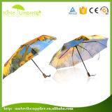 Guarda-chuva automático do presente dos painéis da alta qualidade 21inch 8 para a propaganda