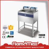 2 Fryer электрического обломока корзины бака 2 глубокий (HEF-85)