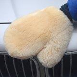 Microfiberの珊瑚の羊毛のカーウォッシュのミット車のクリーニングのミット