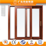 Alluminio del bene durevole di legno di colore/alluminio tipico/portello scorrevole di Aluminio