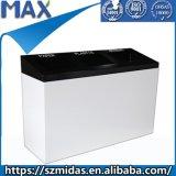 Type mobile descendeur de poubelle de nouveauté de ménage de déchets de coffre d'ordures de fer de poubelle d'Eko